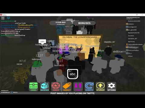 IN THE GUY WITH A SHORT NAMES GAME(ROBLOX CASE CLICKER)