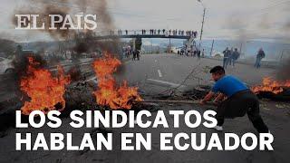 SINDICATOS piden la movilización de la población en ECUADOR