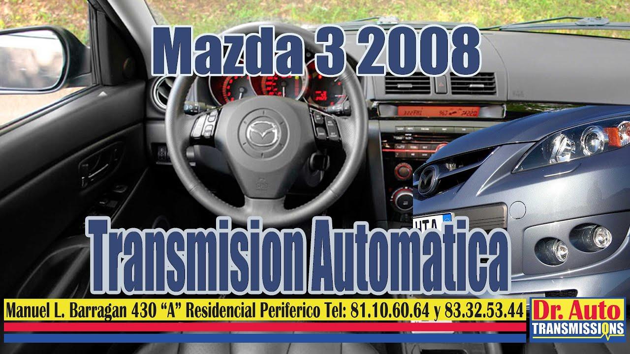 mazda 3 mod 2008 transmision automatica fn4 - youtube