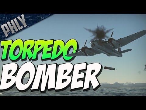 TORPEDO BOMBER VS SHIPS (War Thunder Naval Forces Gameplay)