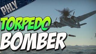 TORPEDO BOMBER VS SHIPS (War Thunder Naval Forces Gameplay)