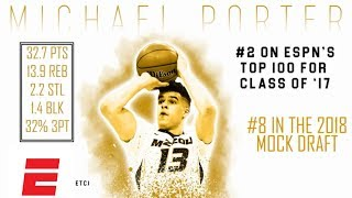 Michael Porter Jr.'s 2018 NBA Draft Scouting Video | DraftExpress | ESPN