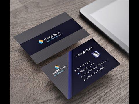 business card design in photoshop cs6 tutorial   Learn Photoshop [2020] thumbnail