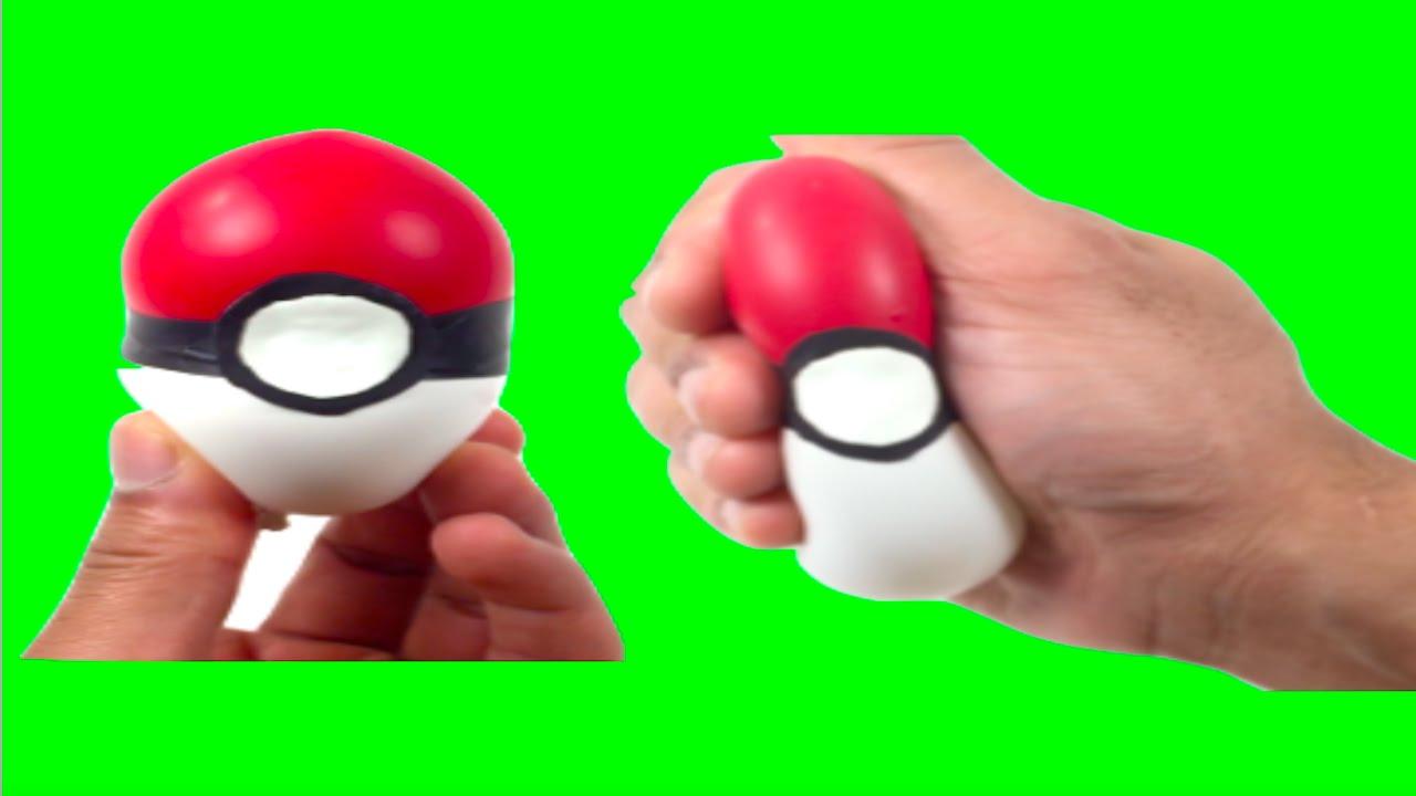 DIY POKEBALL SLIME SQUISHY STRESS BALL! Pokemon Go Squishy Balloon ...