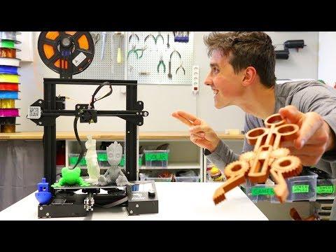 Creality Ender 3 Full Review - Best $200 3D Printer!