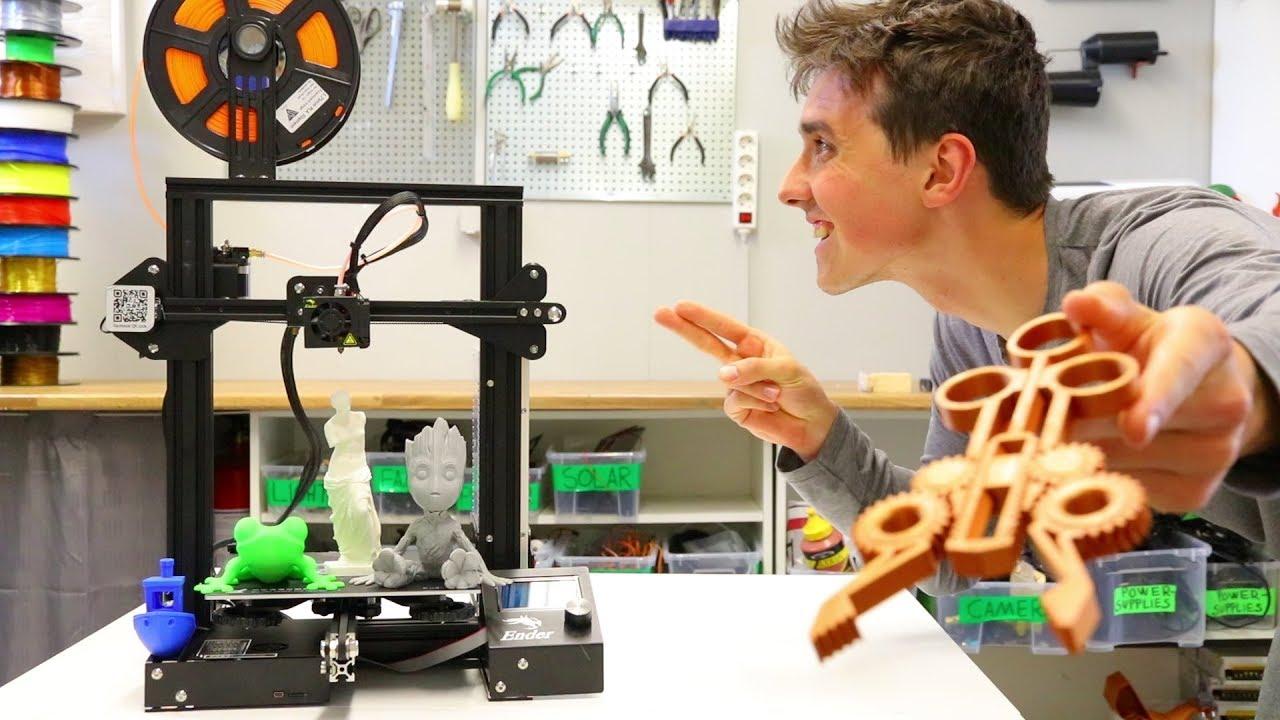 video Creality Ender 3 3D Printer (Kit)