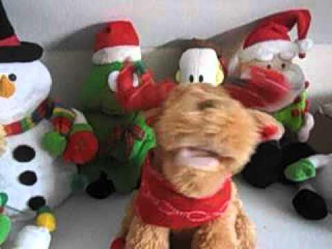 Singing Christmas Reindeer ( Christmas Toys 2015)