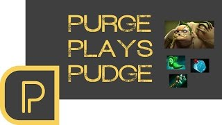 Dota 2 Purge plays Pudge