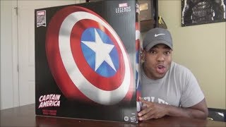 Marvel Legends Comic Captain America Role Play Shield - Unboxing