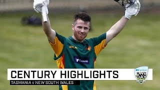 Tassie youngster Wright hits impressive maiden ton | Marsh One-Day Cup 2019