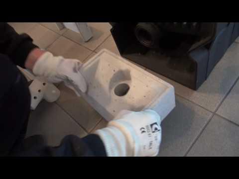 VIADRUS U32   instalace keramické trysky