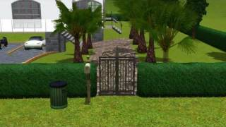 Villa moderne Sims 3