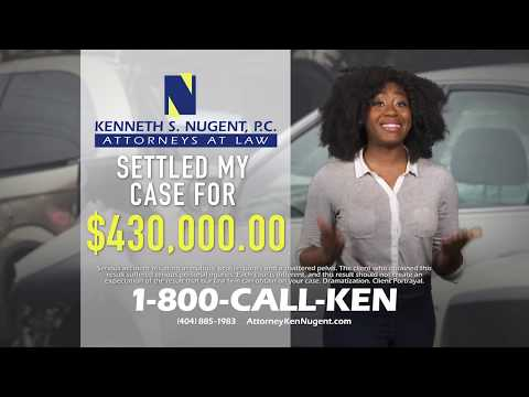 Hurt in a Car Accident? Call Attorney Ken Nugent!
