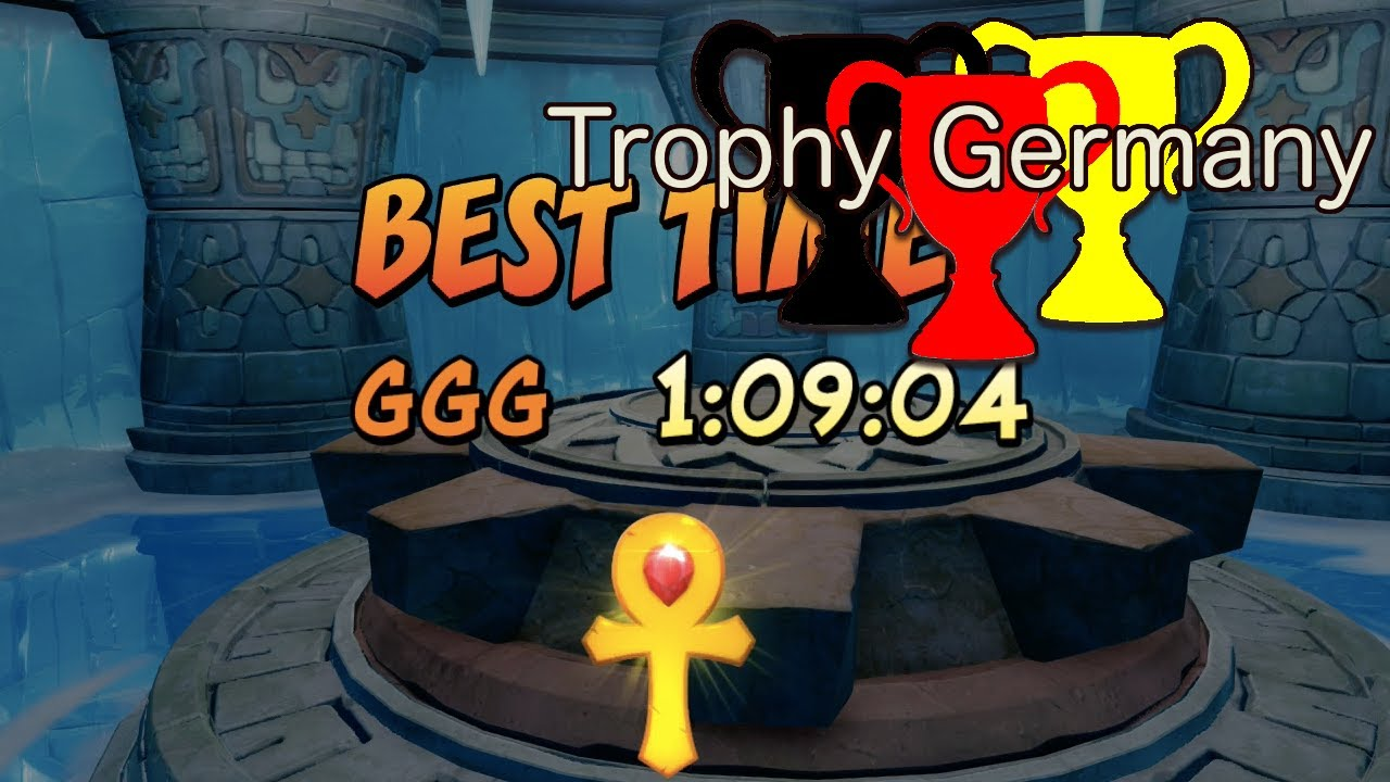 Crash Bandicoot 2 Show Biz Trial Relics 109 Time Gold Youtube
