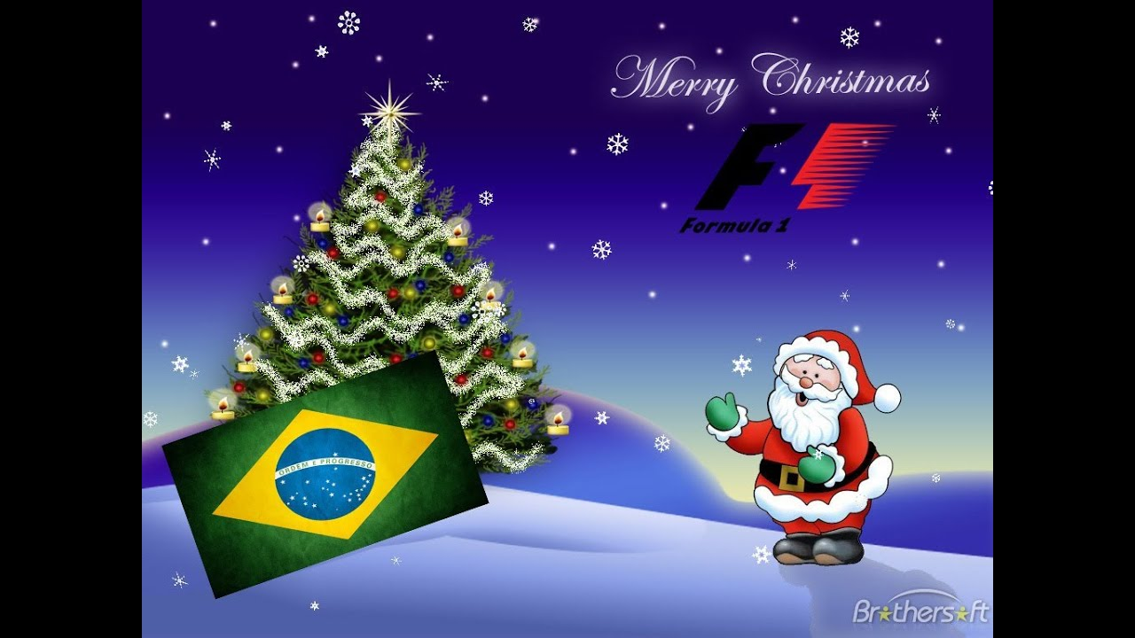 Christmas In Brazil.F1 2012 Merry Christmas From Brazil