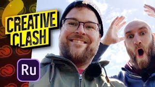 Creative Clash #01 | Adobe Premiere  Rush CC