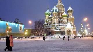Москва. Красная площадь. Зима