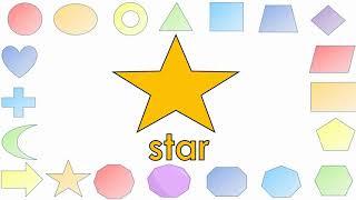 Shapes Vocabulary - Interclass Video