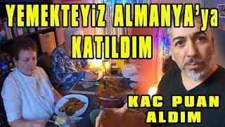 YEMEKTEYiZ ALMANYA'ya KATILDIM -KAC PUAN ALDIM-MURAT ŞEF YEMEKTEYiZ