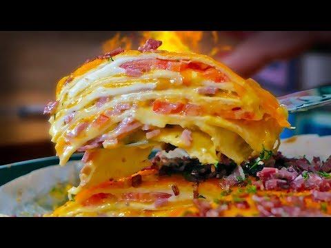 Жирная четырехэтажная пицца по мотивам Crazy Brothers