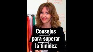 Consejos para superar la timidez en público | Andrea Vilallonga