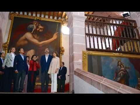 Visita de Estado, Reino de España: Visita al Museo de Guadalupe, Zacatecas (1)