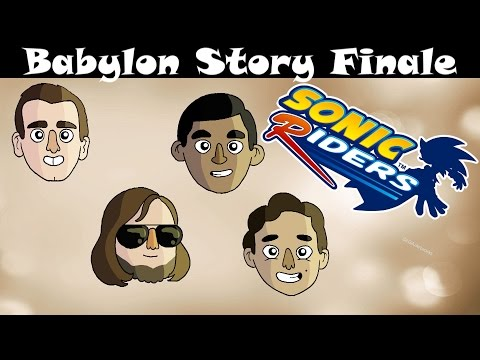 Let's Play Sonic Riders Babylon Story Finale!