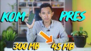 CUMA PAKE HP !!! UKURAN VIDEO JADI KECIL BANGET ! Cara Kompres / Mengecilkan Size ~ Laiqul Fakhri