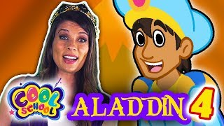 Aladdin and the Magic Lamp - Part 4 | Story Time with Ms. Booksy at Cool School