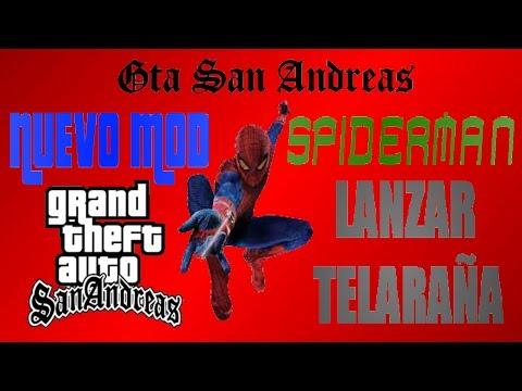 GTA San Andreas | Descargar E Instalar Mod Telaraña - Loquendo