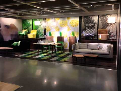 IKEA Shinmisato guidance To living furniture from the entrance(1/5)