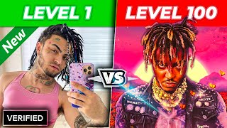 RAPPERS from Level 1 To Level 100 | 2020