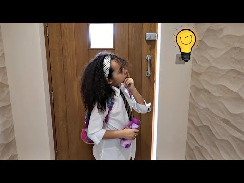 My School Morning Routine (SKIT) Funny Kids - Toys AndMe