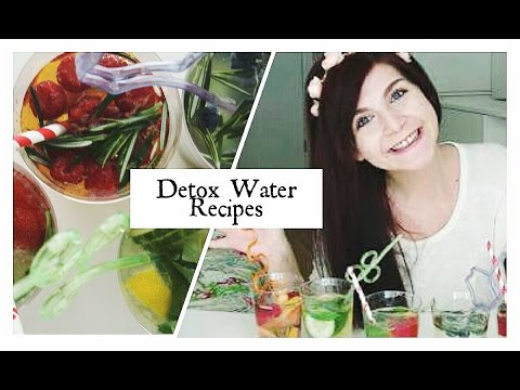 5 Рецепти За Детоксикираща Вода   5 Detox Water Recipes