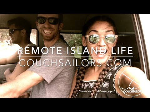 Remote Island Life on Aitutaki, Cook Islands || COUCHSAILORS Sailing Journal #18