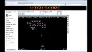 Galaxian (Atarisoft) Apple II (Highscore.com 12030)