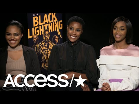 'Black Lightning': China Anne McClain, Christine Adams & Nafessa Williams On Thunder  Access