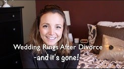 Wedding Rings After Divorce | I Sold It (online) & Plans