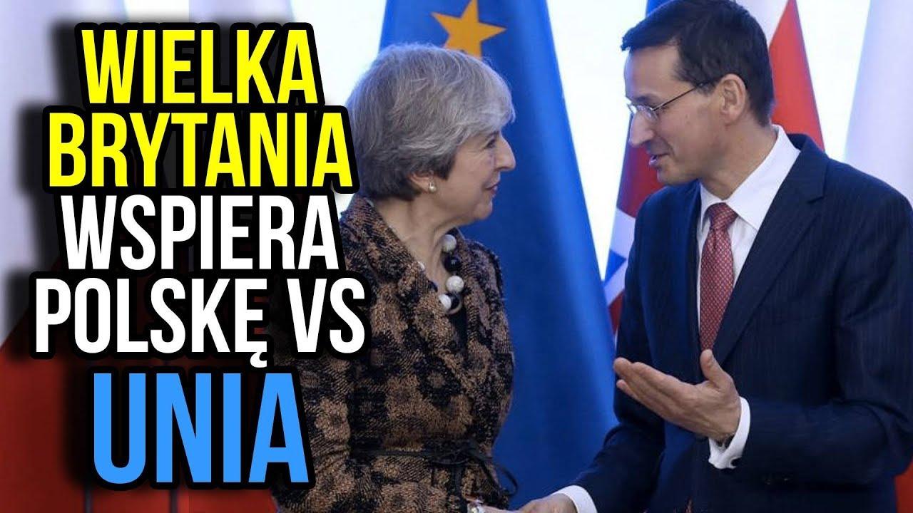 Wielka Brytania wspiera Polskę przeciw Unii Europejskiej