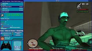GTA San Andreas CHAOS MOD Speedrun Part 5 - Hugo_One Twitch Stream - 12/9/2019
