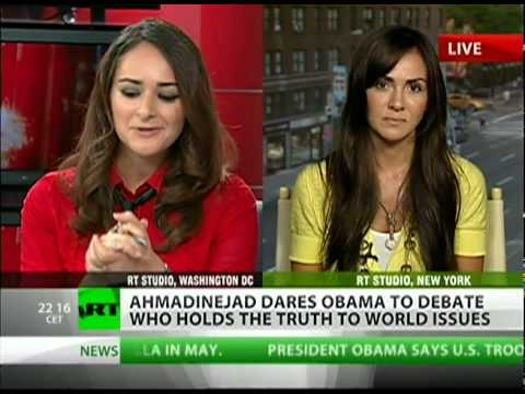 Ahmadinejad calls out Obama