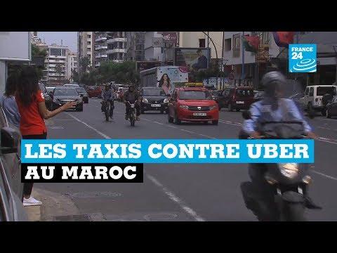 Les taxis contre Uber au Maroc