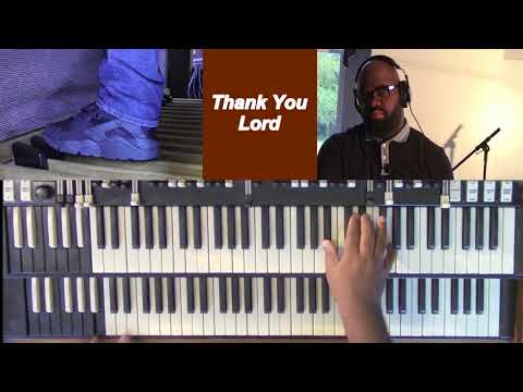 Thank You Lord Organ By Walter Hawkins