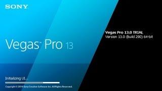 Как монтировать видео в Sony Vegas Pro 13