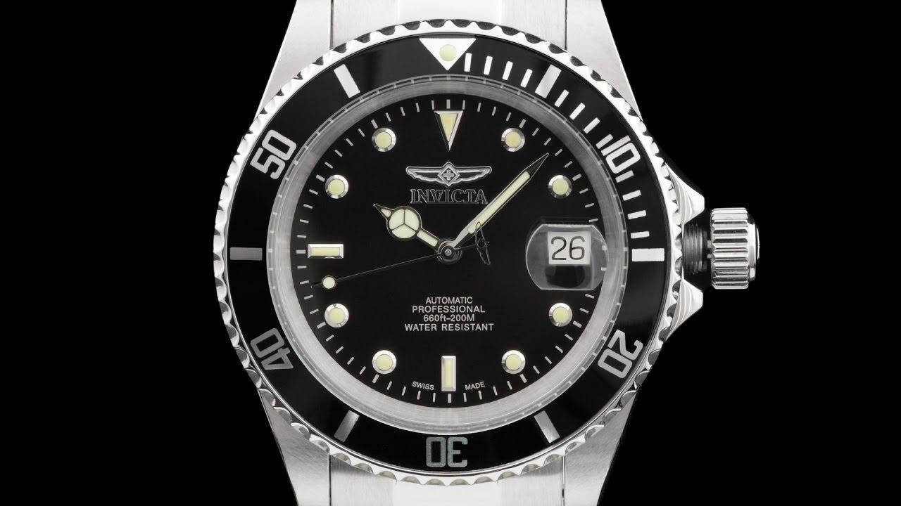 Invicta 9937ob 40mm Pro Diver Swiss Made Automatic Bracelet Watch Rolex Parts Diagram