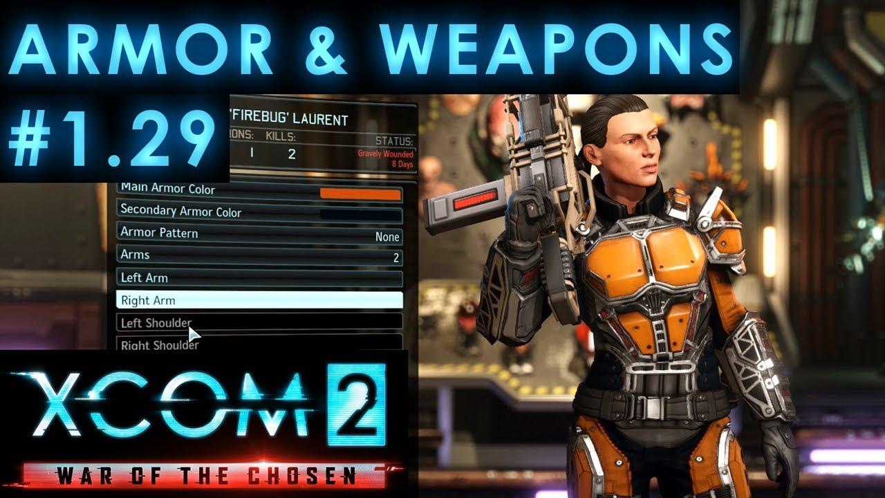 armor weapons xcom 2 wotc youtube. Black Bedroom Furniture Sets. Home Design Ideas