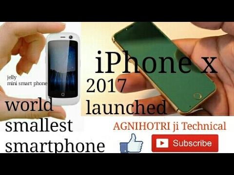 Download Youtube: apple iPhone x launched || world smallest smartphone ||