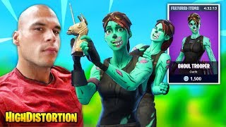 HighDistortion Gets DANCED ON By This Ghoul Trooper Skin But Then THIS HAPPENS | Fortnite Daily