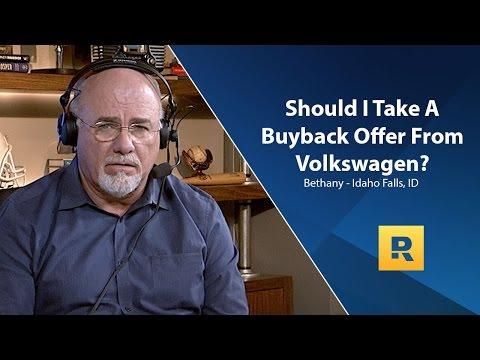 Should I Take Volkswagen Buyback Offer?