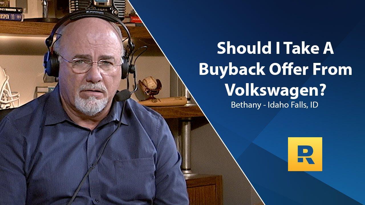 volkswagen buyback offer youtube